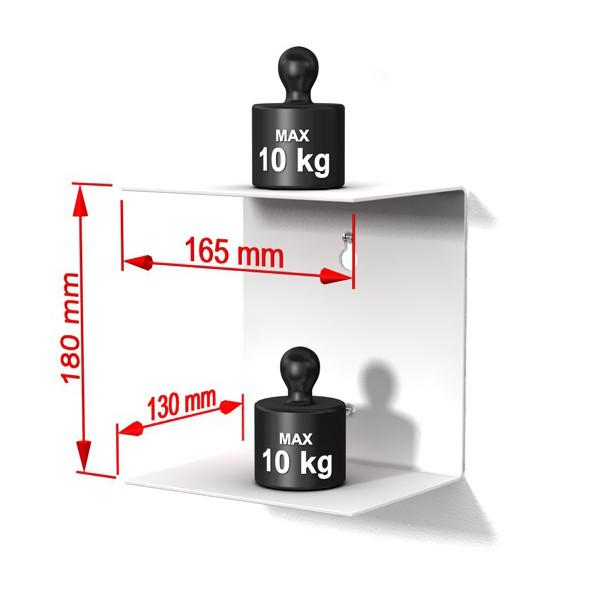 home3000 4erset klein weiss. Black Bedroom Furniture Sets. Home Design Ideas