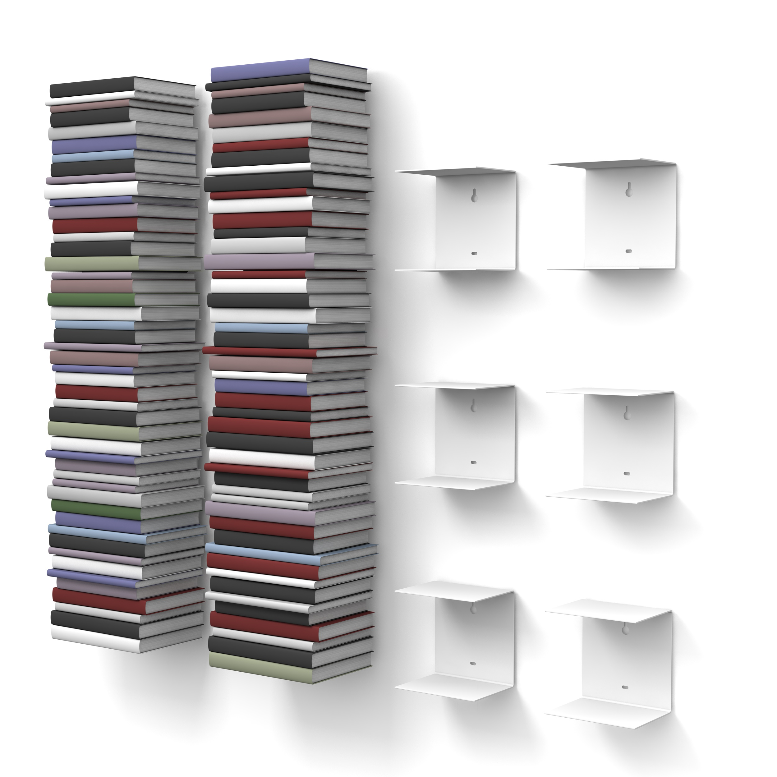 home3000 2x3er set klein weiss. Black Bedroom Furniture Sets. Home Design Ideas